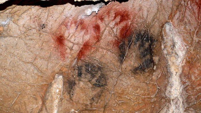 Este arte antiguo podría representar a personas del paleolítico que amputaron sus propios dedos