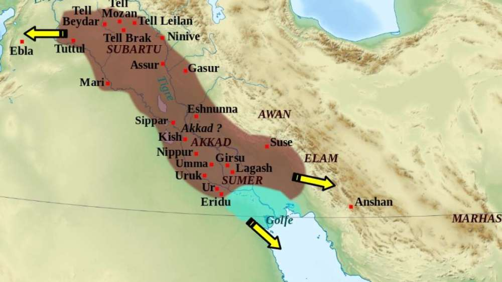 El Imperio acadio fue el primer gran imperio de Mesopotamia, precediendo a los babilonios y sumerios más conocidos. La explicación de su caída proviene de las montañas a orillas del distante Mar Caspio