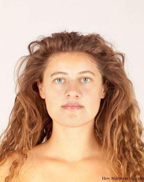 La imagen del rostro de Ava en 2016