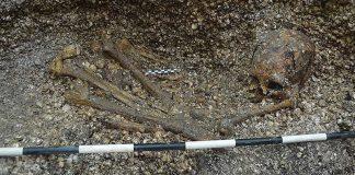 Hallan el entierro humano más antiguo en la parte baja de América Central