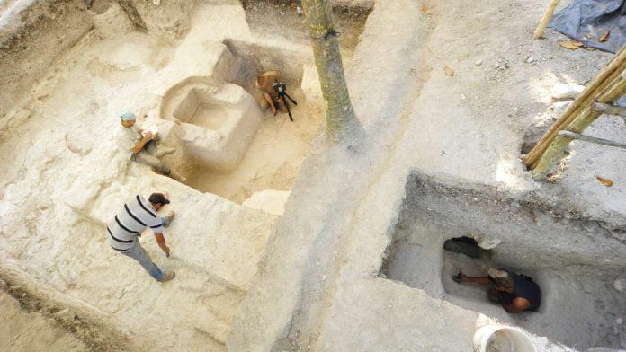 Hallan un baño de vapor de 2.500 años perfectamente conservado y que fue usado en rituales maya