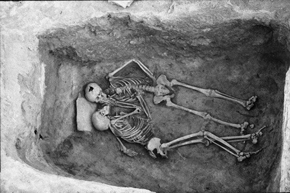 Los amantes de Hasanlu, dos esqueletos, ambos probablemente hombres, que parecen estar besándose, han desafiado durante mucho tiempo las suposiciones heterosexistas en arqueología, que Cifarelli está llevando más lejos