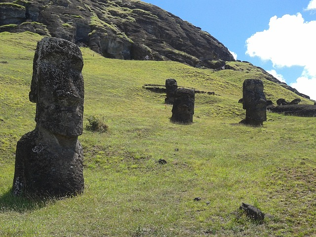 Estatuas de Isla de Pascua: misterio detrás de su ubicación revelado