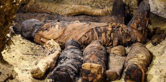 Hallan más de 50 momias muy bien conservadas en necrópolis de Egipto