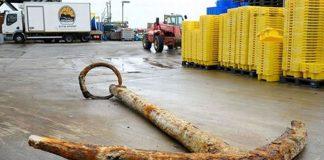 Ancla hallada podría pertenecer a famoso barco del siglo XVII que se hundió con más de $1 billón de oro