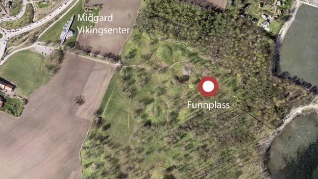 El descubrimiento se realizó a unos 100 km al sur de Oslo, en Noruega