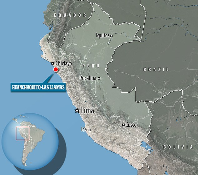 El sitio de entierro de Huanchaquito-Las Llamas es un área de 2.286 metros cuadrados ubicada a menos de media milla de la capital de Chimu, Chan Chan, un sitio de Patrimonio Mundial de la UNESCO.