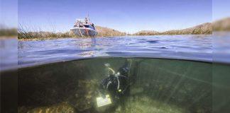 Hallan ofrendas rituales antiguas en el lago más alto del mundo