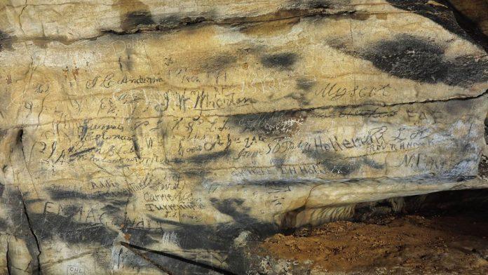 Inscripciones de la cueva cherokee hablan de una ceremonia sagrada