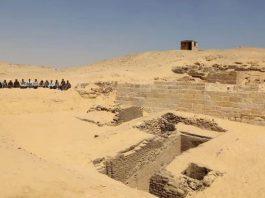Hallan un cementerio de 4.500 años cerca de la Pirámides de Giza