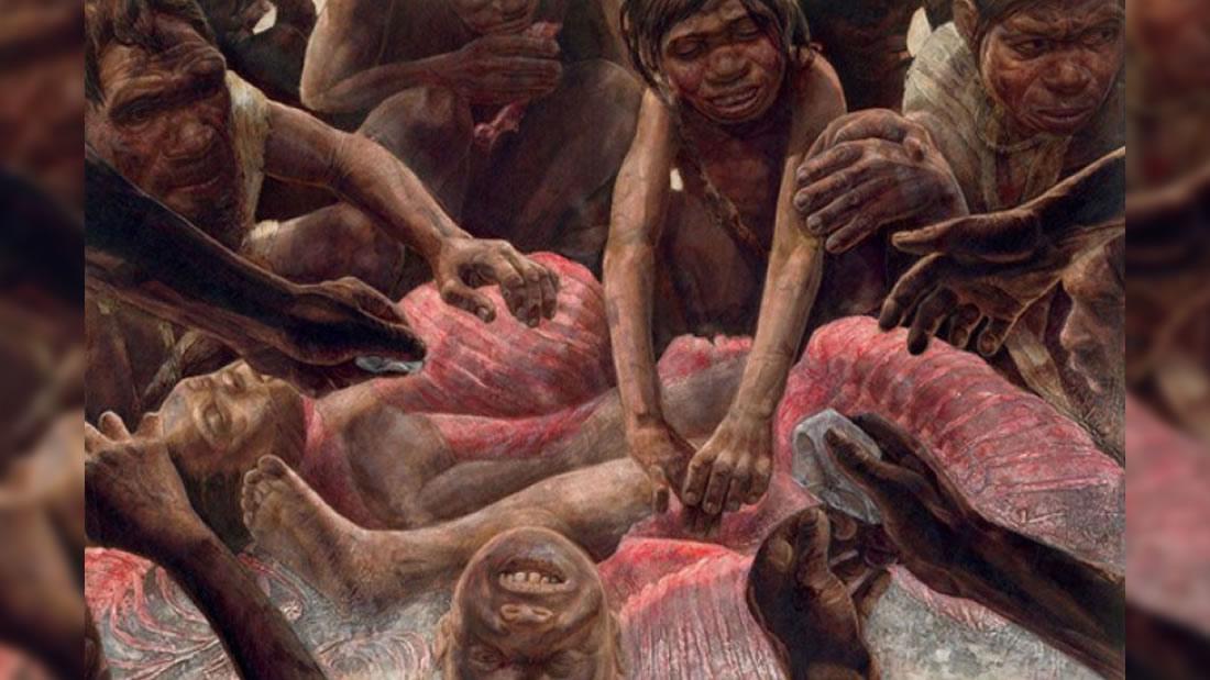 Nuestros ancestros caníbales vieron a los humanos como una comida fácil