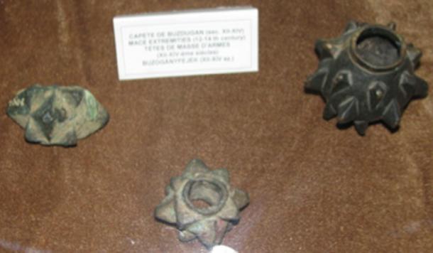 Otros tipos de cabezas de mazo descubiertas en el pasado en Rumania