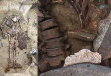 Hallan en Siberia un «hombre pájaro» y gafas de bronce de 5.000 años de antigüedad