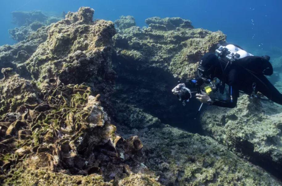 Uno de los antiguos naufragios griegos